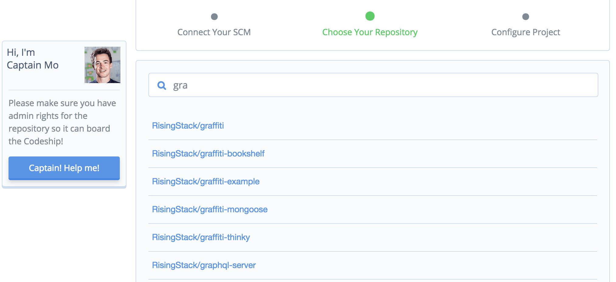 Codeship with Github