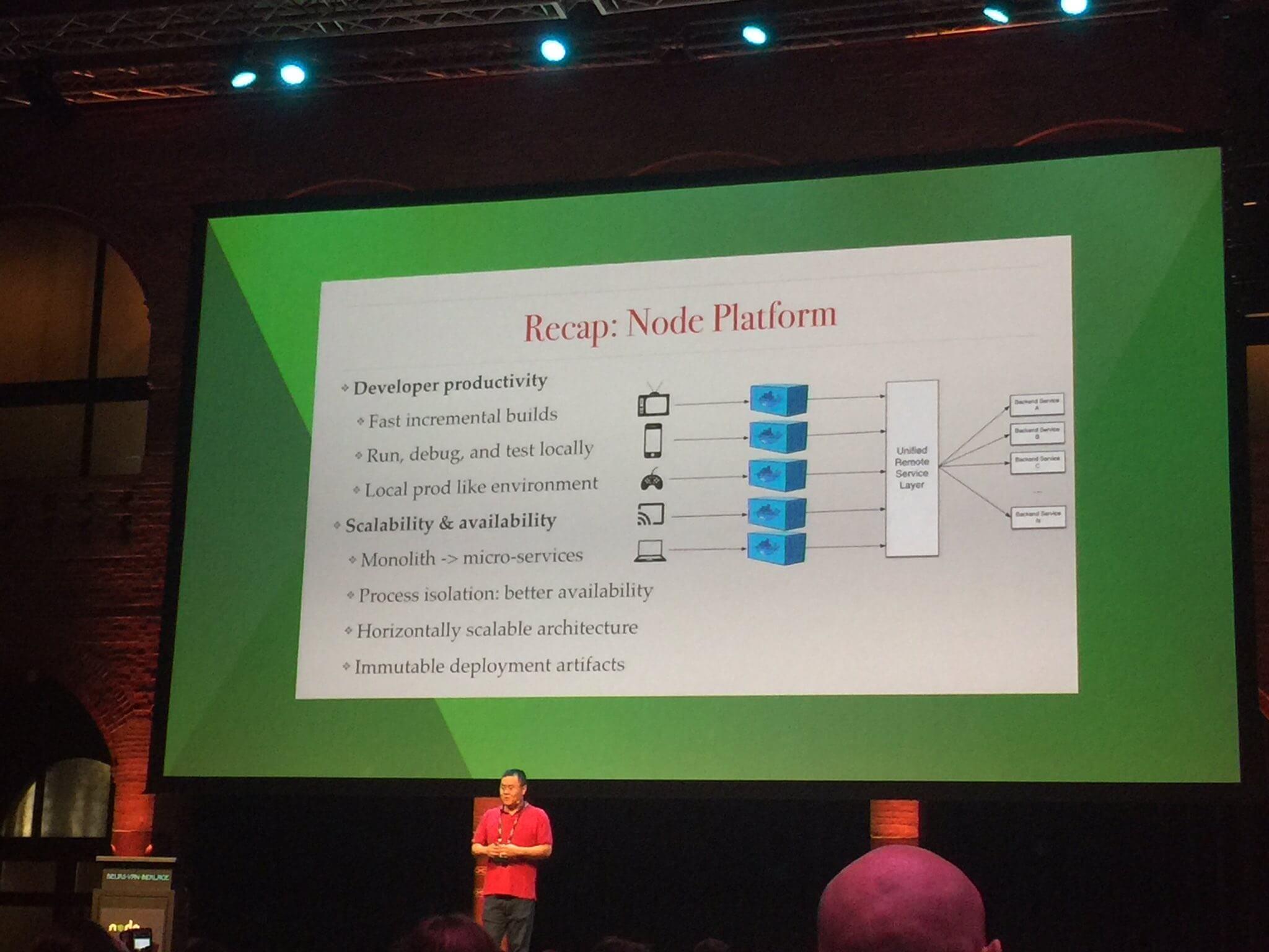 Node.js Interactive Amsterdam - Yunong Xiao from Netflix