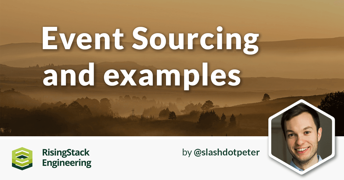 Event sourcing with examples node js at scale