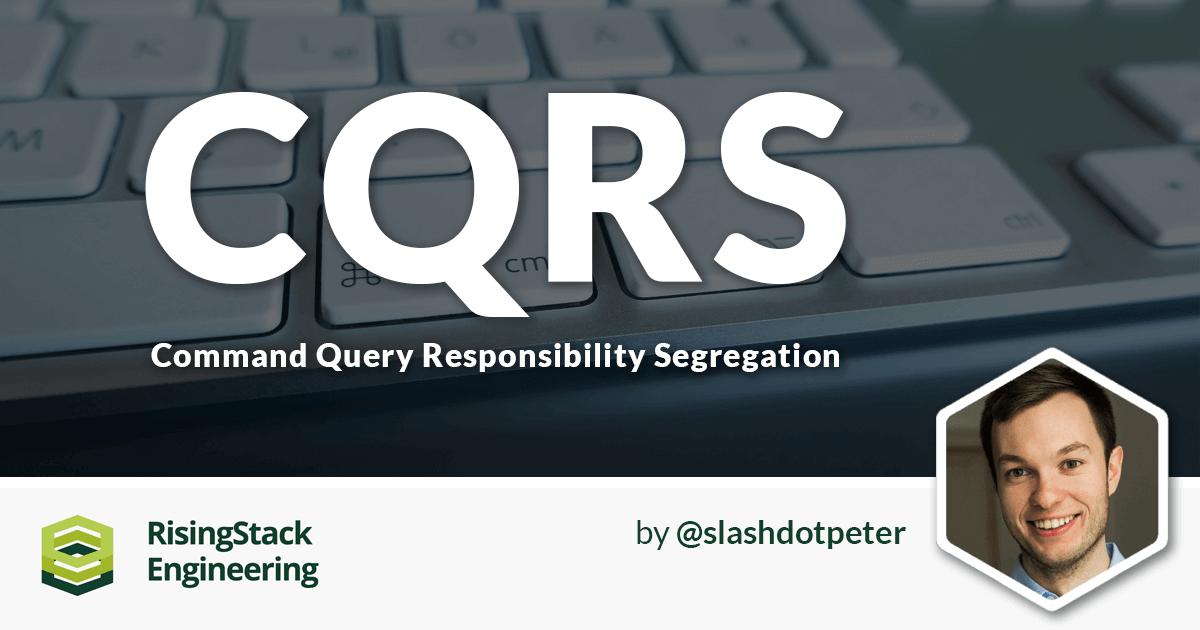 CQRS  Explained - Node.js at Scale