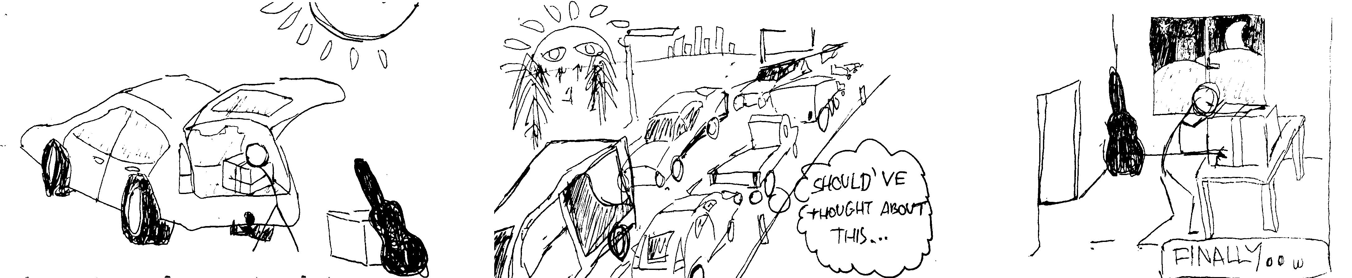 Illustration for synchronous blocking I/O