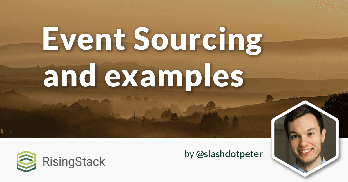 Event Sourcing with Examples in Node.js