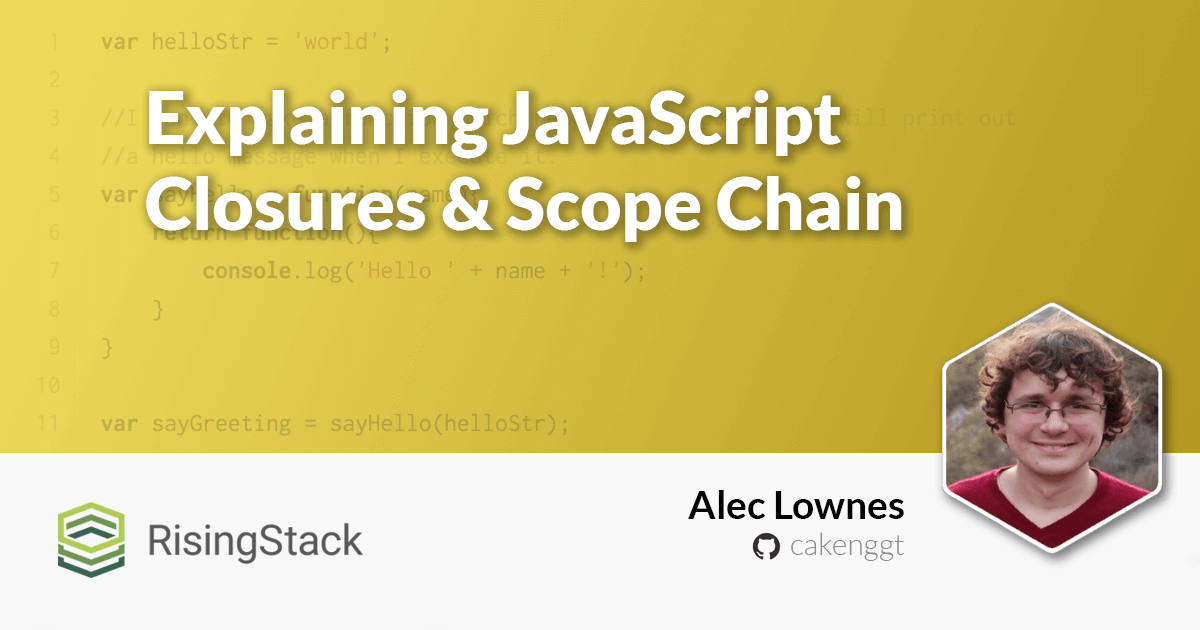 Explaining JavaScript Closures & Scope Chain with Examples