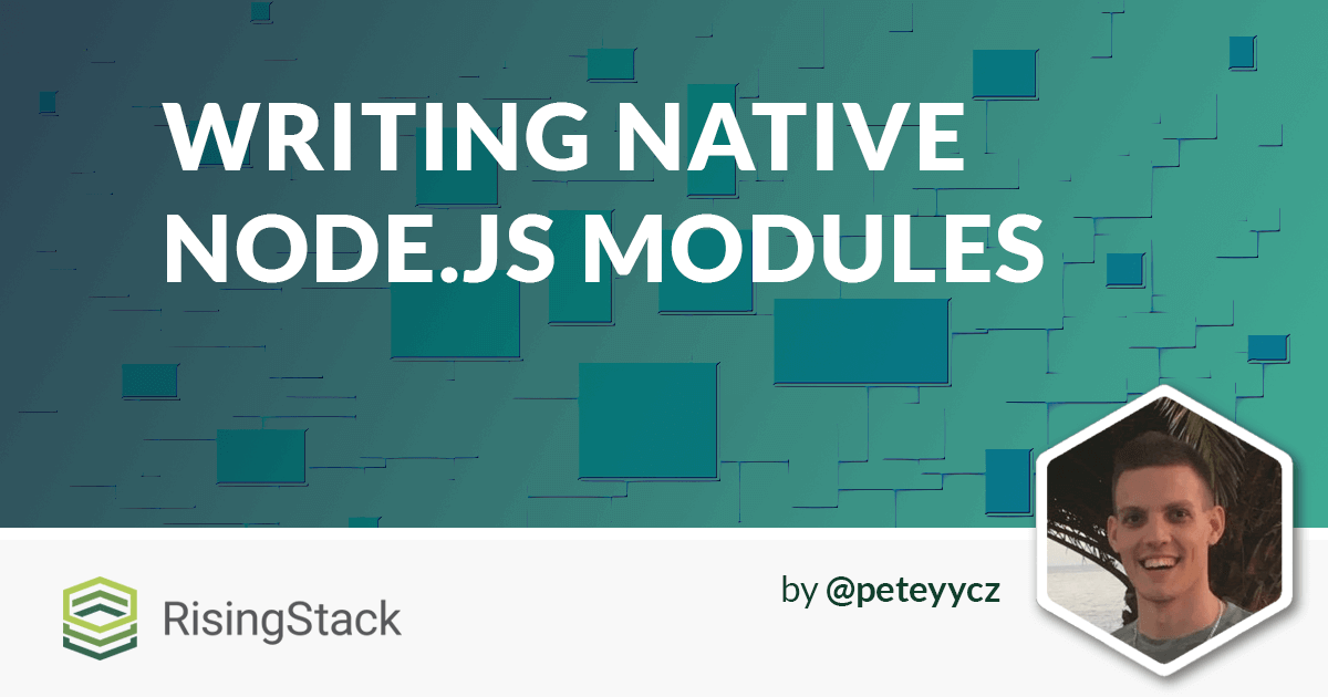 Writing Native Node.js Modules