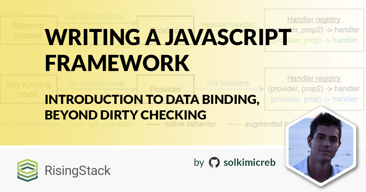 Writing a JavaScript Framework - Introduction to Data Binding, beyond Dirty Checking