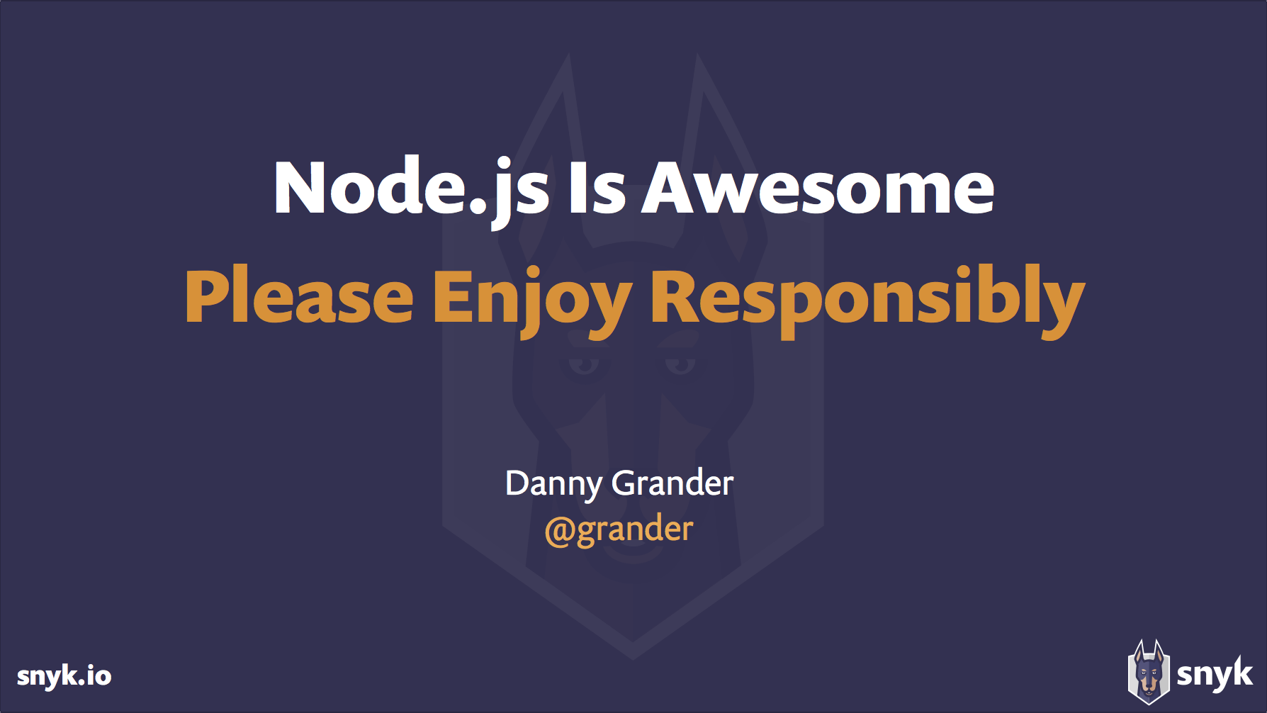 enjoy secure nodejs