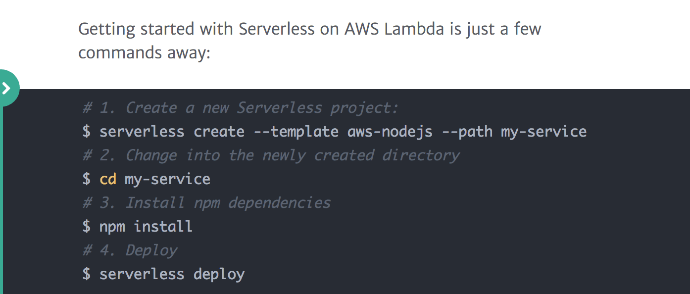 getting started with aws lambda