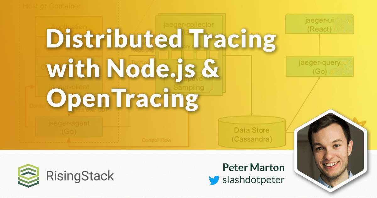Microservices distributed tracing node js opentracing