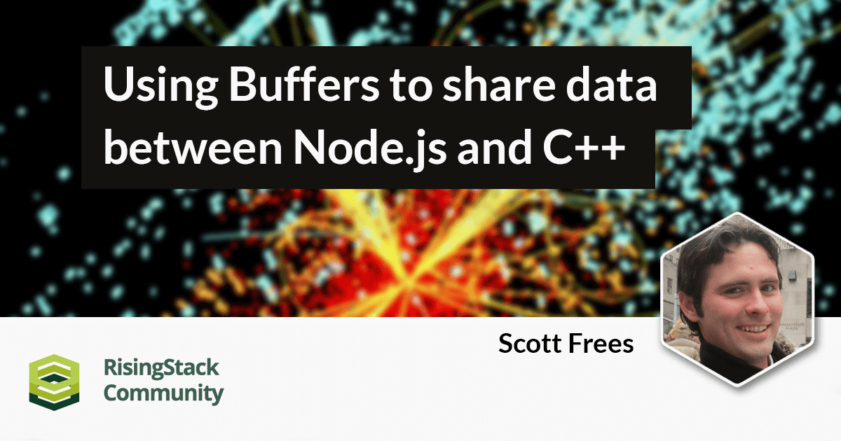 Using Buffers to share data between Node.js and C++